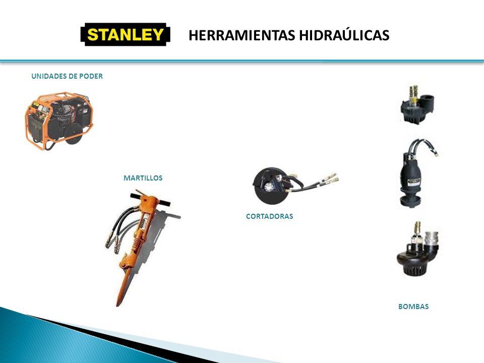 HERRAMIENTAS HIDRAÚLICAS UNIDADES DE PODER MARTILLOS BOMBAS CORTADORAS
