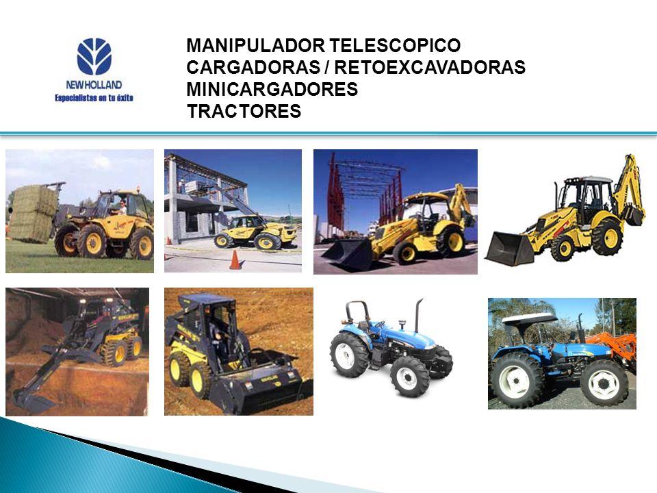 MANIPULADOR TELESCOPICO CARGADORAS / RETOEXCAVADORAS MINICARGADORES TRACTORES