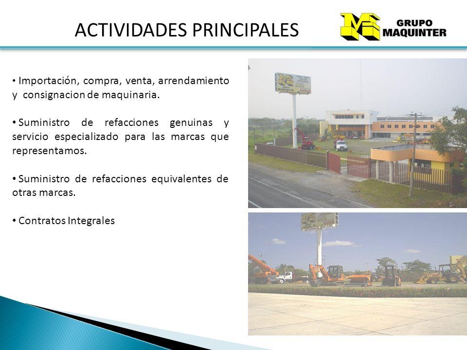 SUCURSALES GRUPO MAQUINTER 33 Oficinas