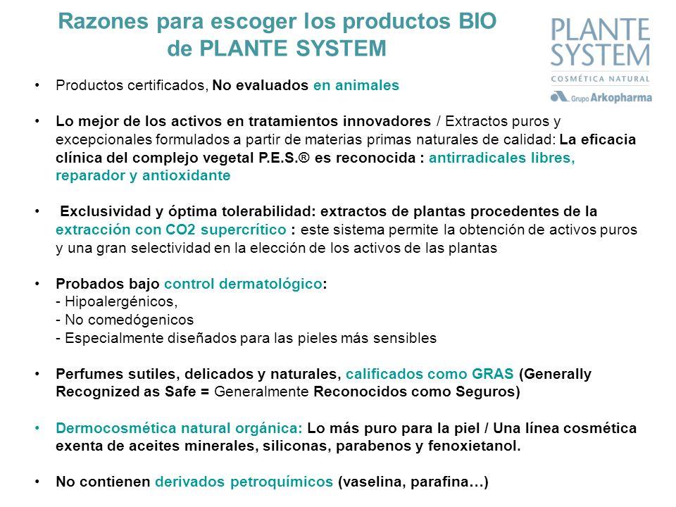 Productos certificados, No evaluados en animales Lo mejor de los activos en tratamientos innovadores / Extractos puros y excepcionales formulados a pa