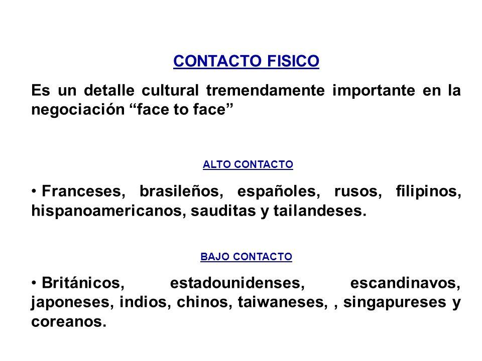 EXPRESIÓN EN LOS OJOS Los estadounidenses, árabes, coreanos, tailandeses y escandinavos creen que mantener contacto ocular es síntoma de sinceridad, h