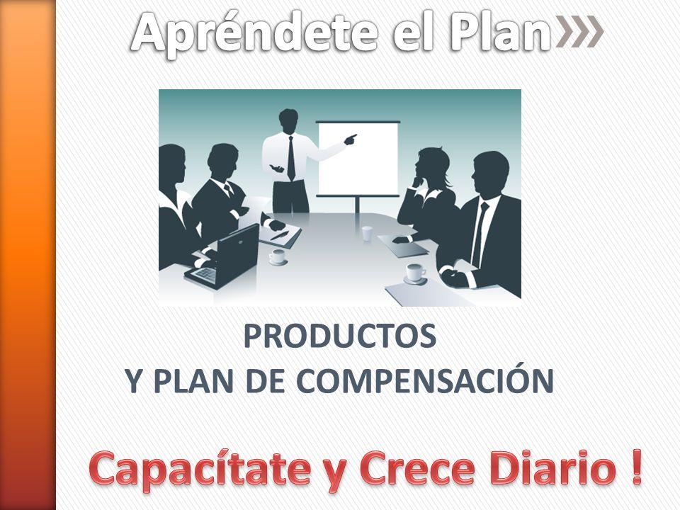 PRODUCTOS Y PLAN DE COMPENSACIÓN