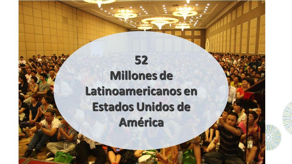 52 Millones de Latinoamericanos en Estados Unidos de América