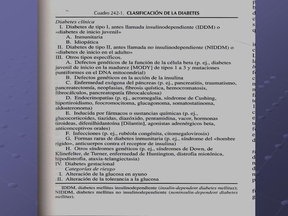 COMPLICACIONES CRONICAS DE LA DM microangiopaticas - RETINOPATIA DIABETICA: La DM es la ppal causa de ceguera entre 20 y 74 a.
