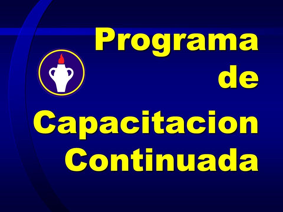 Programa de Capacitacion Continuada