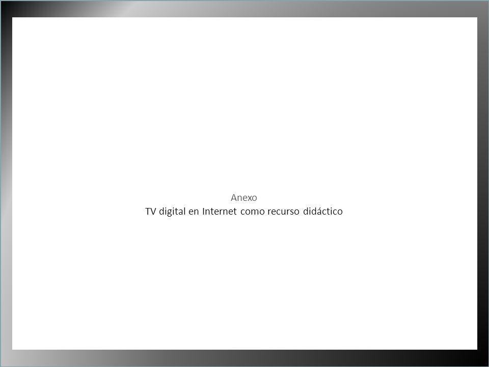 1 Anexo TV digital en Internet como recurso didáctico