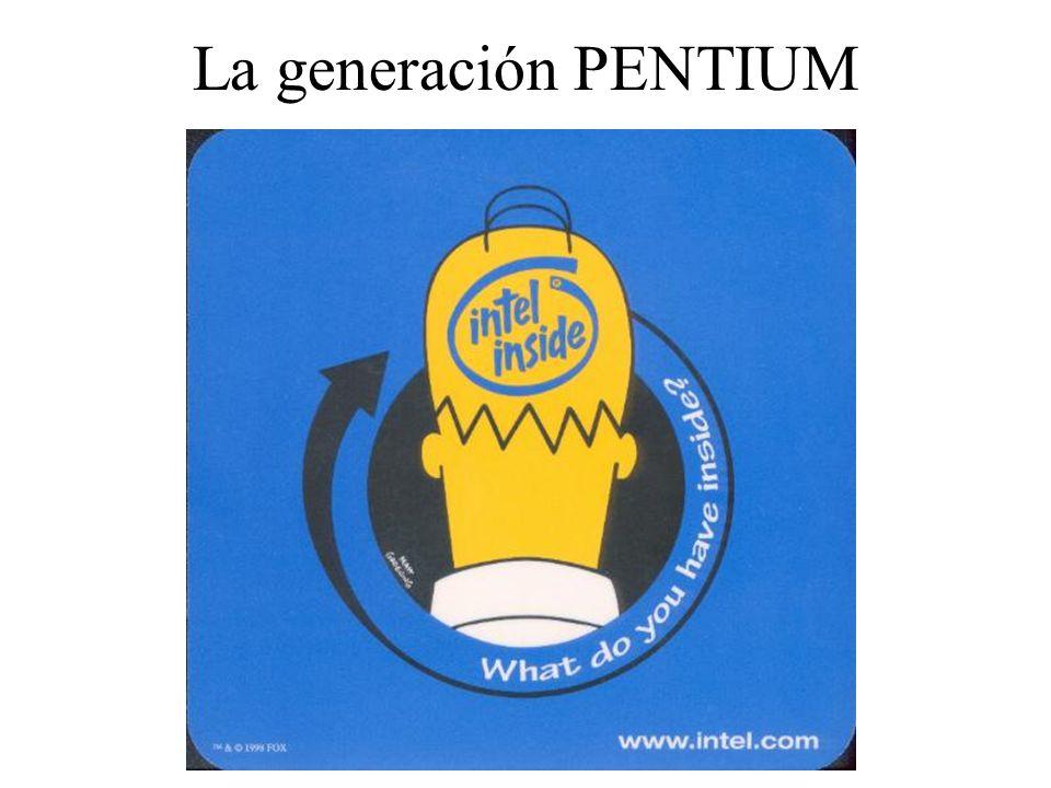 La generación PENTIUM