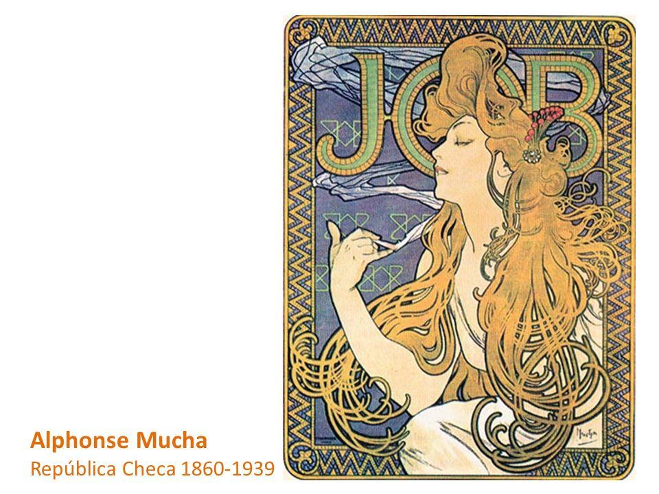 Alphonse Mucha República Checa 1860-1939