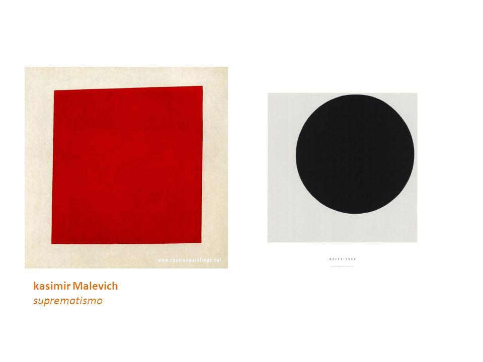 kasimir Malevich suprematismo