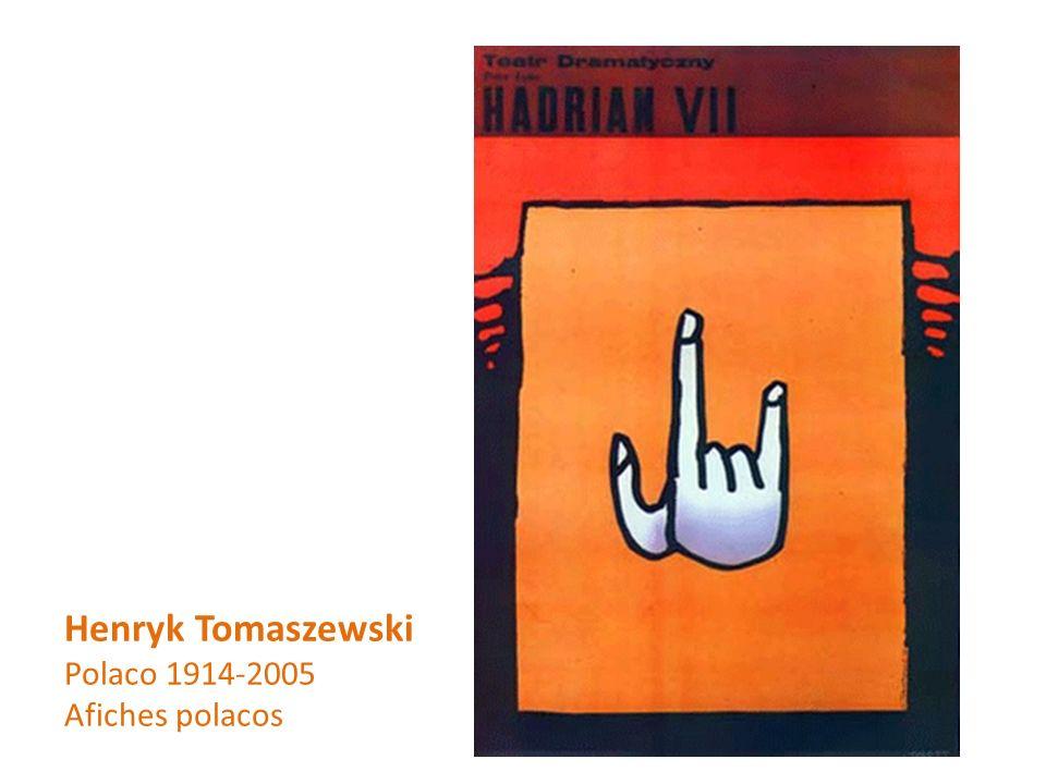Henryk Tomaszewski Polaco 1914-2005 Afiches polacos
