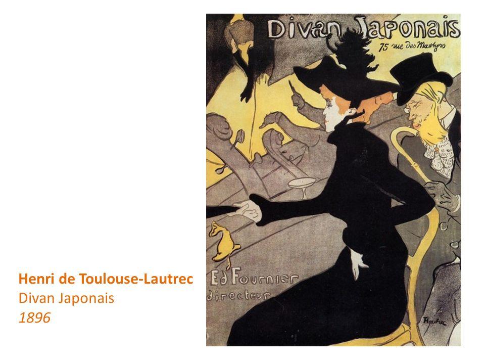 Henri de Toulouse-Lautrec Divan Japonais 1896