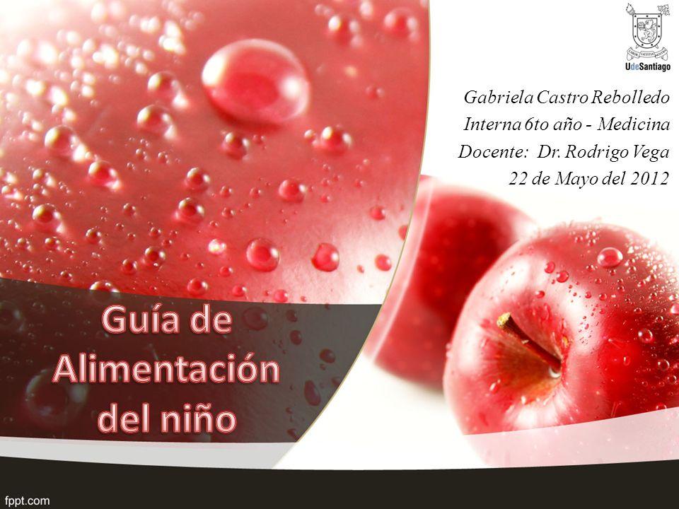 Gabriela Castro Rebolledo Interna 6to año - Medicina Docente: Dr. Rodrigo Vega 22 de Mayo del 2012