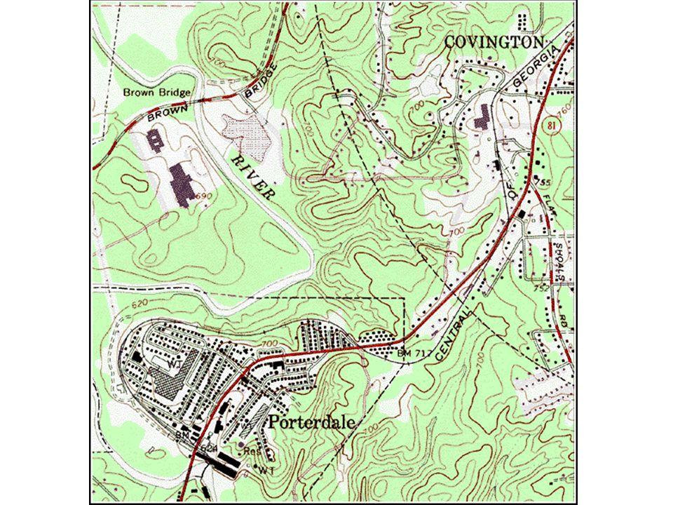 El plano topográfico persigue representar graficamente las variaciones en la superficie del terreno (accidentes/características topográficas).