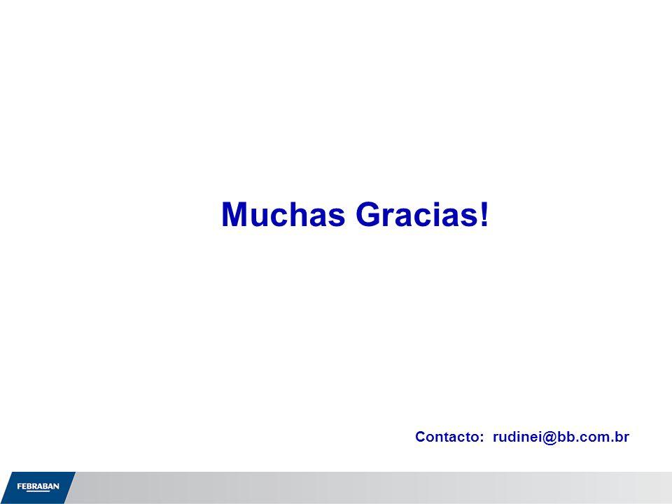Muchas Gracias! Contacto: rudinei@bb.com.br