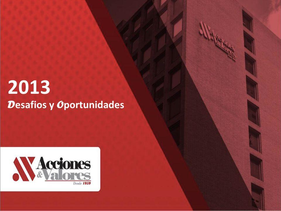 2013 D esafios y O portunidades