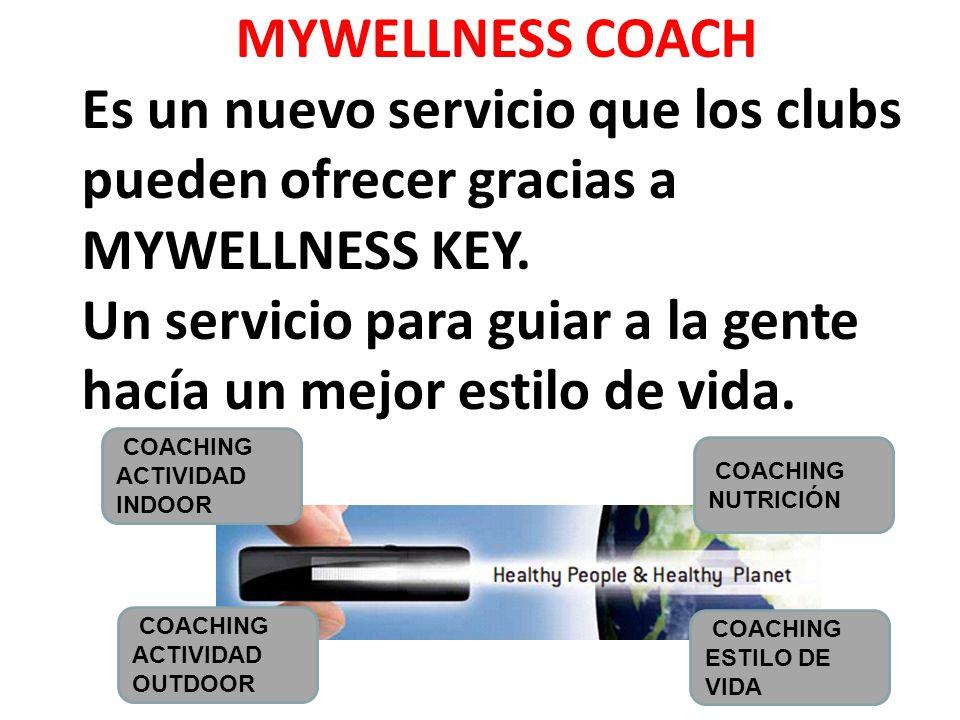 MYWELLNESS KEY es un nuevo equipo que mide la actividad física estés donde estés, motivándote a ser más activo día a día