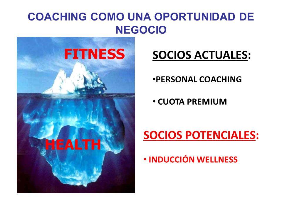 El mercado potencial de la gente no-fitness es enorme.El mercado potencial de la gente no-fitness es enorme. Clientes con diferentes necesidades, moti