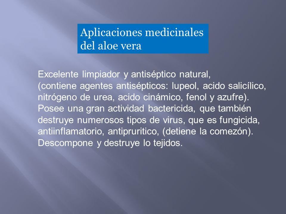 Excelente limpiador y antiséptico natural, (contiene agentes antisépticos: lupeol, acido salicílico, nitrógeno de urea, acido cinámico, fenol y azufre