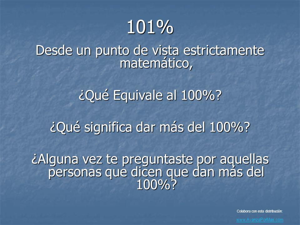 Ahora, ve esto... Colabora con esta distribución: www.AvanzaPorMas.com