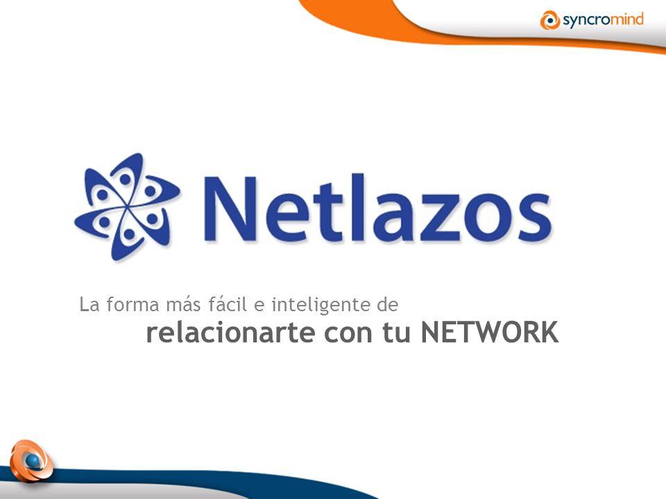 La forma más fácil e inteligente de relacionarte con tu NETWORK