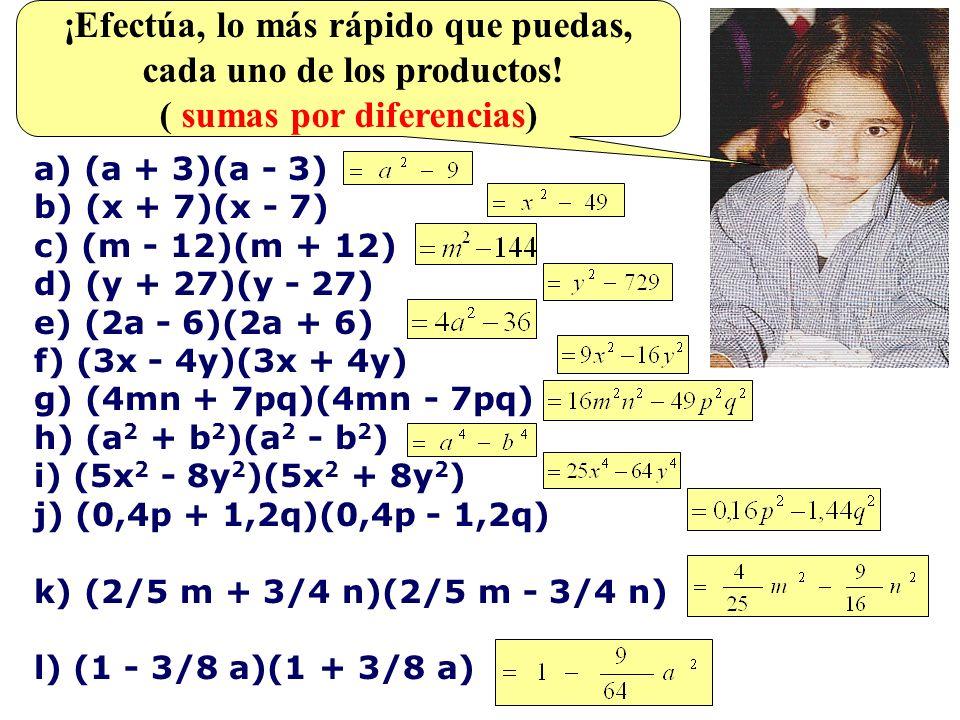 OBSERVA COMO SE MULTIPLICA la expresion algebraica siguiente: = 6x 9 y 2 - 3x 5 y 5 + 3x 4 y 3 - 8x 11 y 6 + 4x 7 y 9 - 4x 6 y 7 ¡COMO NO SE OBTIENEN TÉRMINOS SEMEJANTES, EL DESARROLLO CONCLUYE.