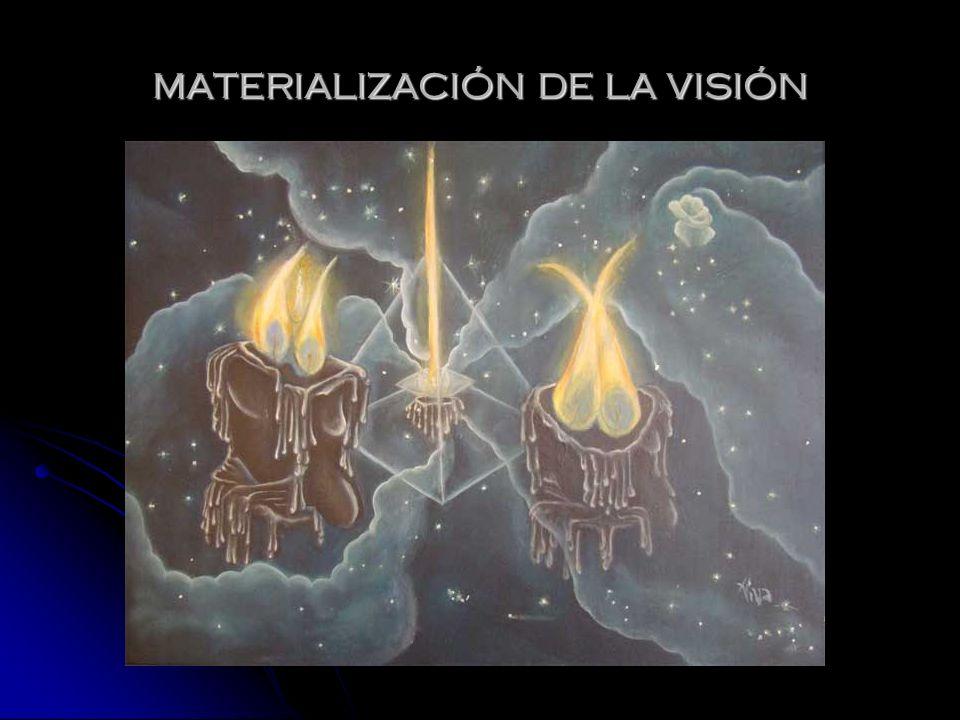 MATERIALIZACIÓN DE LA VISIÓN