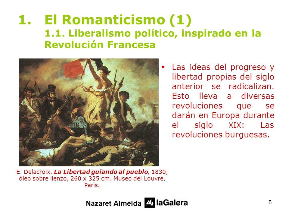 26 2.El Romanticismo (2) 2.7.