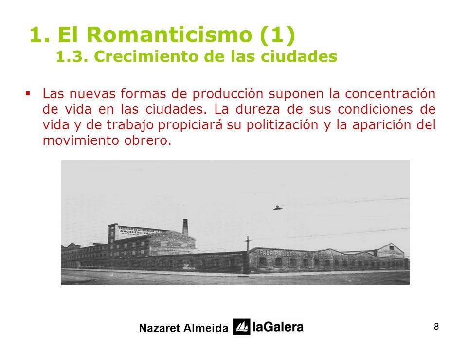 19 2.El Romanticismo (2) 2.4.