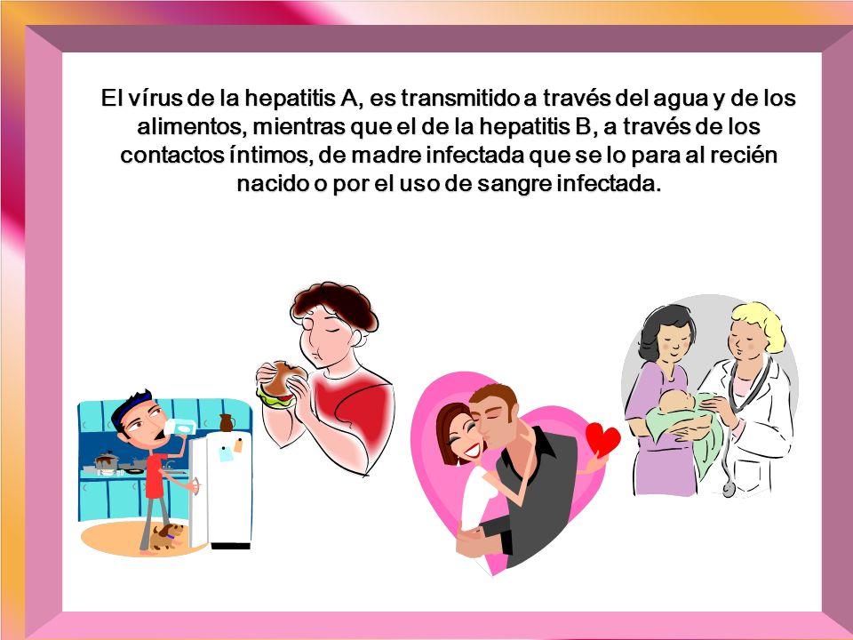 Por ejemplo, el virus de la hepatitis C, es transmitido por la transfusión de sangre y hemodiálisis, por el uso de drogas intravenosas o por el material cortante o perforante de uso colectivo, sin la esterilización adecuada: procedimientos médicos/odontológicos, tatuajes, piercing, manicura, etc.