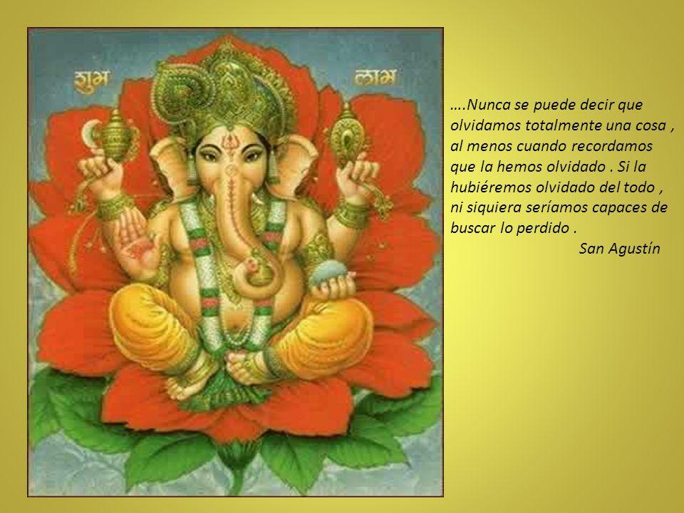 La divinidad esencial del hombre, es uno de los principios fundamentales de la fe hindú.
