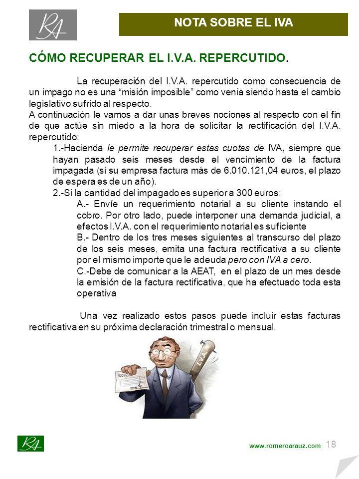 17 OTRAS CONSULTAS www.romeroarauz.com SAN de 30 de marzo de 2011 RECAUDACIÓN TRIBUTARIA.