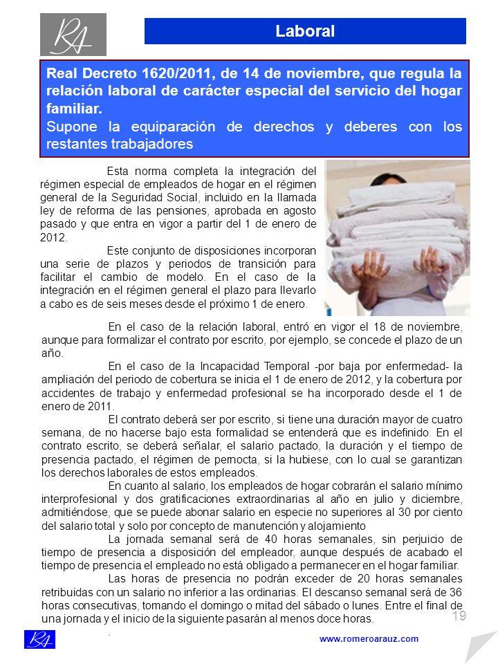 18 NOTA SOBRE EL IVA www.romeroarauz.com CÓMO RECUPERAR EL I.V.A.