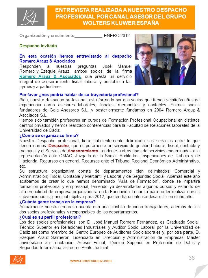 37 EVENTOS www.romeroarauz.com En la página web del Consorcio del bicentenario, http://bicentenariocadiz1812.es, podrán encontrar amplia información respecto a todos los actos conmemorativos.