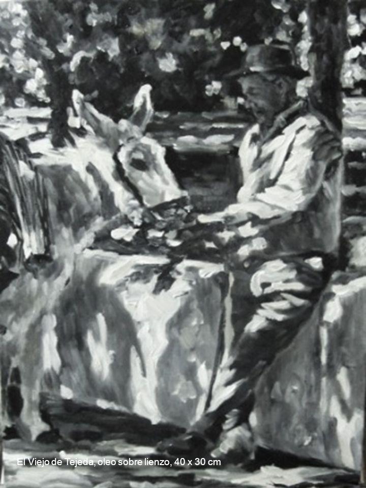 El Viejo de Tejeda, oleo sobre lienzo, 40 x 30 cm