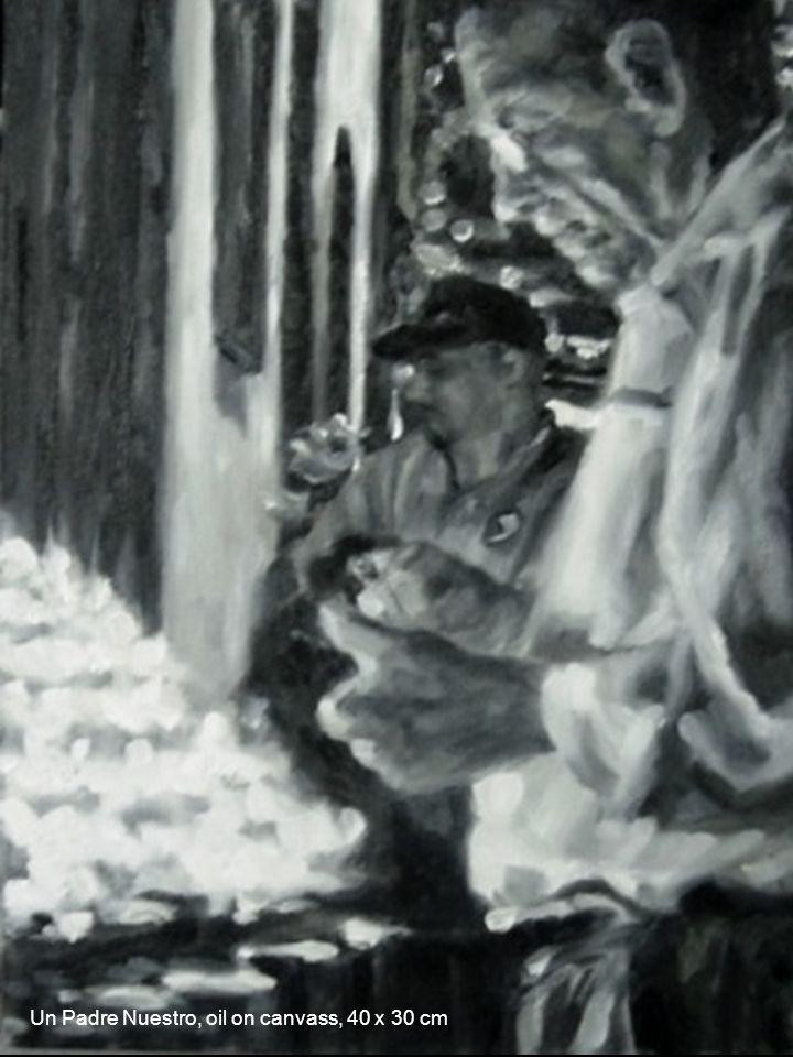 Eh?, oleo sobre lienzo, 30 x 40 cm