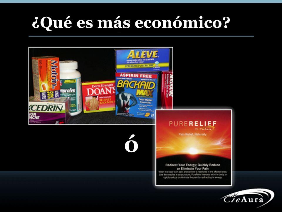 ¿Qué es más económico? ó