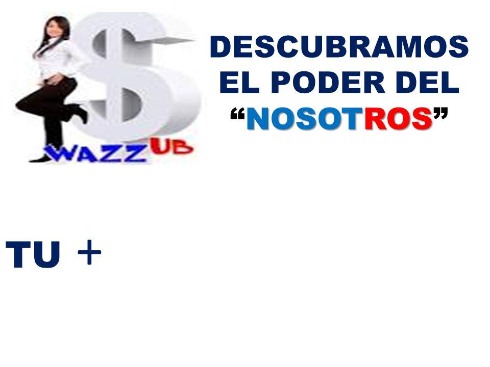 TU + NOSOTROS DESCUBRAMOS EL PODER DELNOSOTROS =
