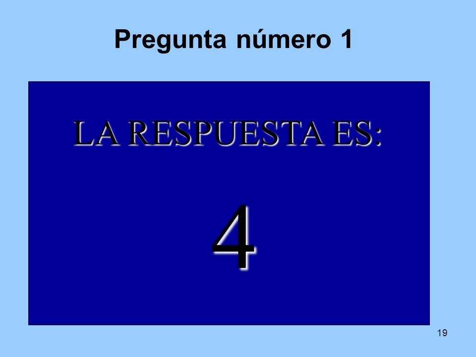 18 Las normas son las siguientes: Formaremos grupos de 5.