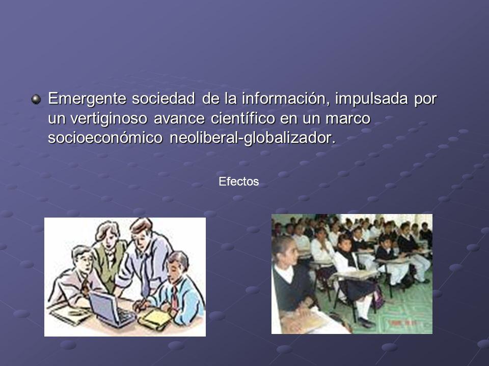Escenario tecnócrata Escenario tecnócrata Las escuelas se adaptan realizando simplemente pequeños ajustes.