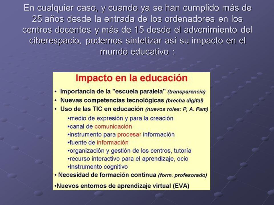 FUNCIONES DE LAS TIC EN EDUCACIÓN.