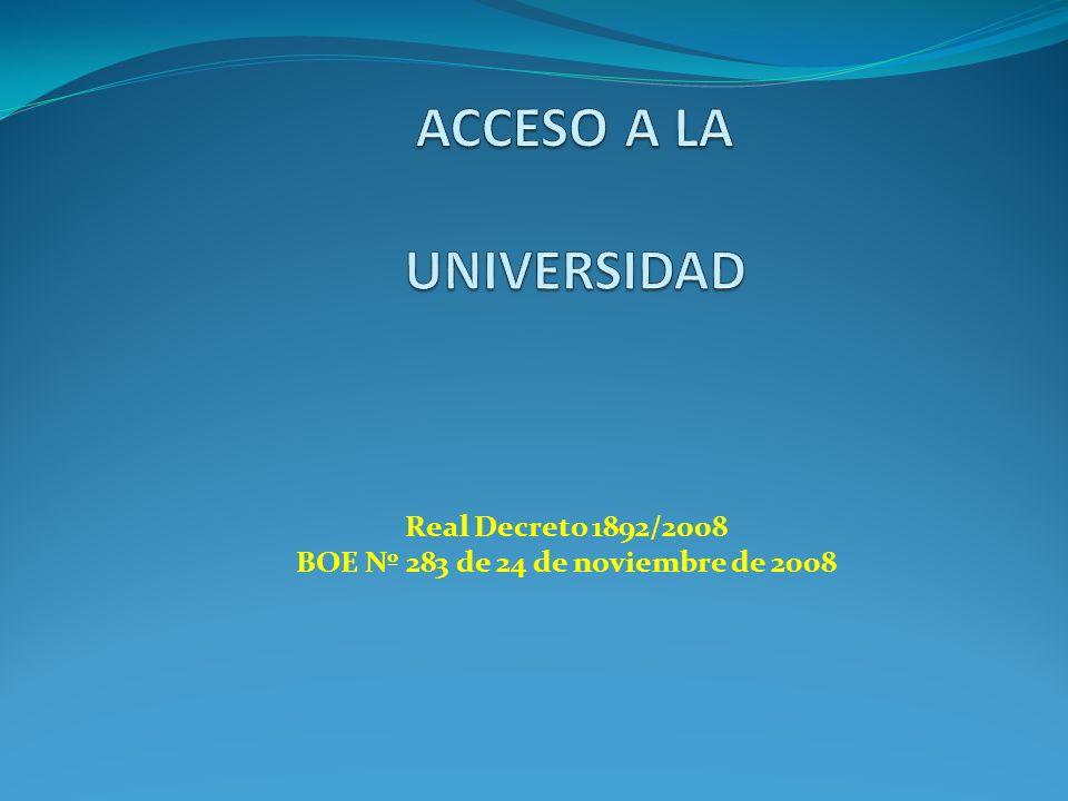 Real Decreto 1892/2008 BOE Nº 283 de 24 de noviembre de 2008