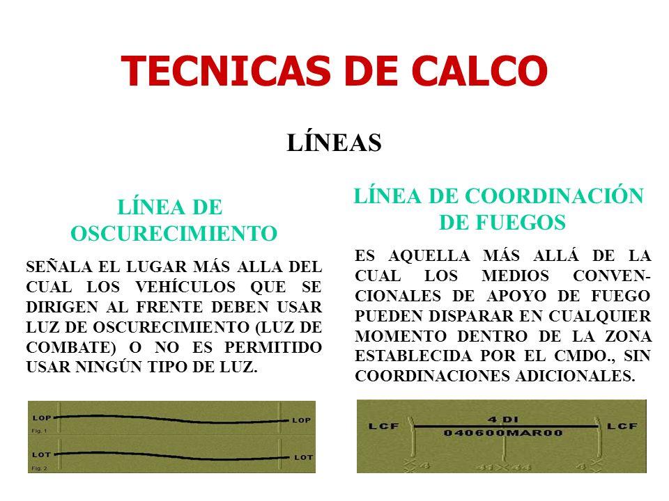 TECNICAS DE CALCO LÍNEAS LÍNEA DE OSCURECIMIENTO SEÑALA EL LUGAR MÁS ALLA DEL CUAL LOS VEHÍCULOS QUE SE DIRIGEN AL FRENTE DEBEN USAR LUZ DE OSCURECIMI