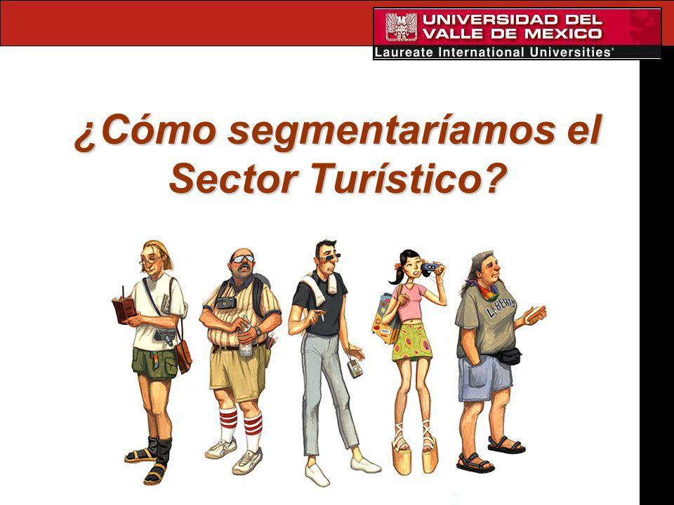 ¿Cómo segmentaríamos el Sector Turístico?
