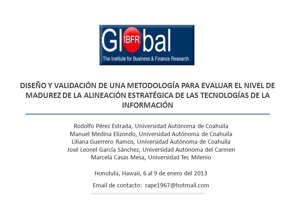 Resultados De acuerdo a Alonso (2008) & Díaz et al.