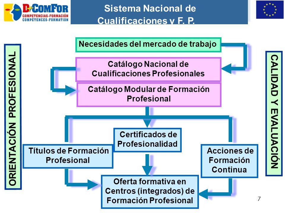 77 Sistema Nacional de Cualificaciones y F.P.