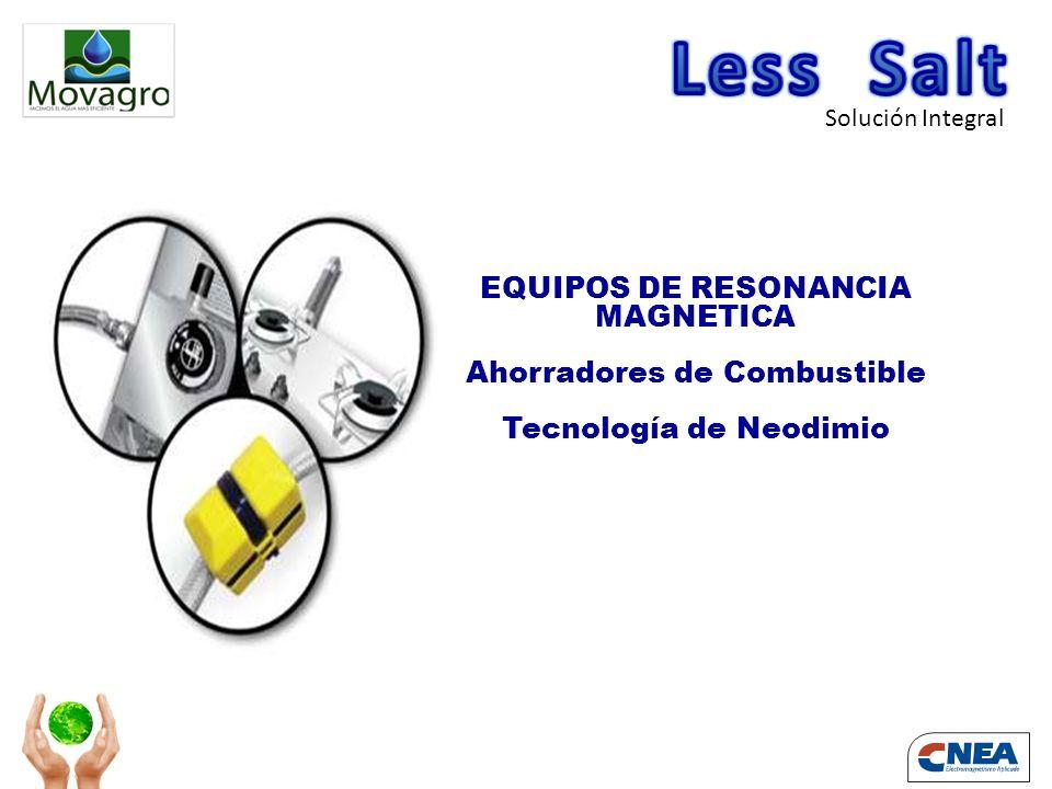 Solución Integral EQUIPOS DE RESONANCIA MAGNETICA Ahorradores de Combustible Tecnología de Neodimio EQUIPOS DE RESONANCIA MAGNETICA Ahorradores de Combustible Tecnología de Neodimio