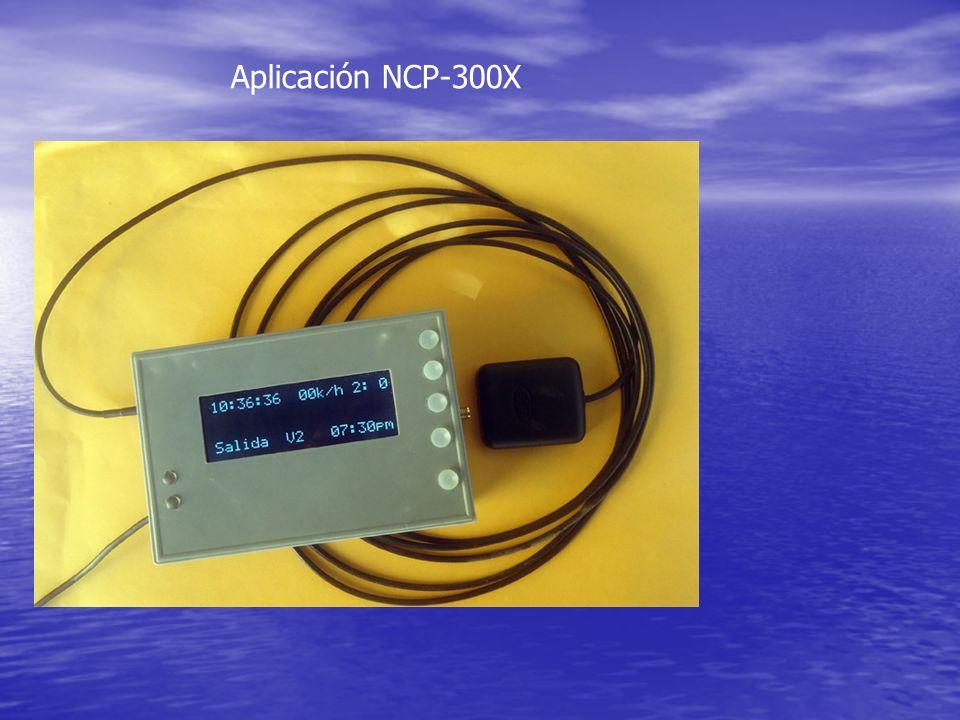 Aplicación NCP-300X
