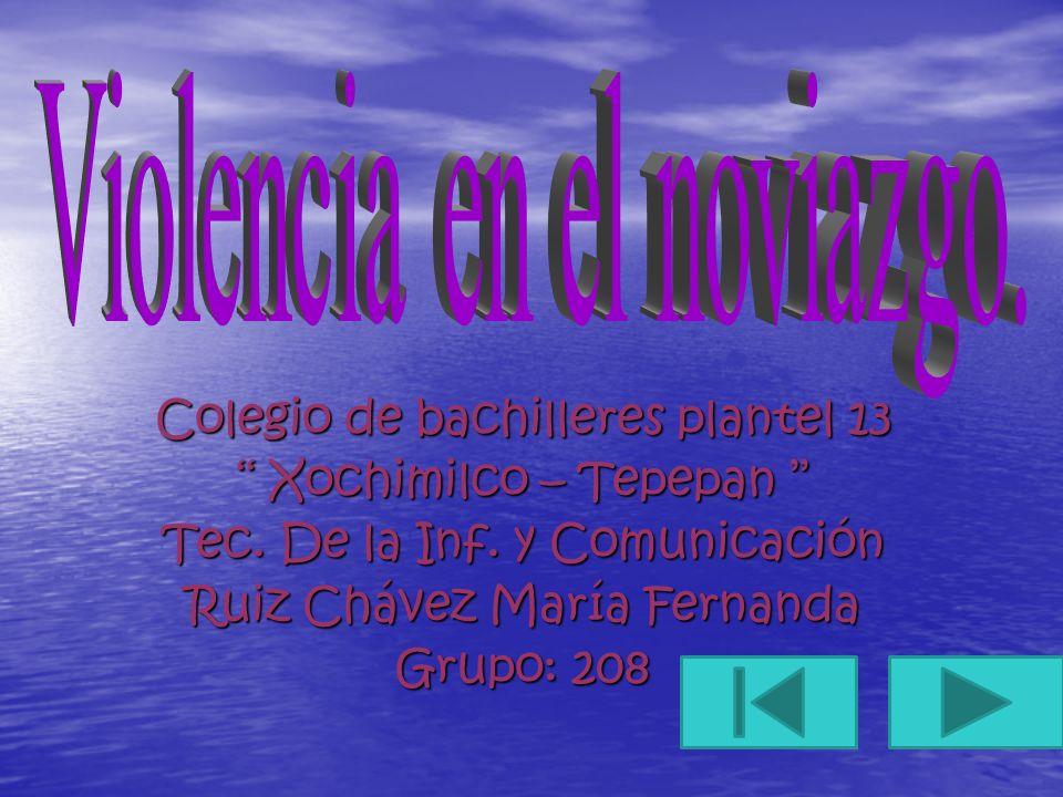 Colegio de bachilleres plantel 13 Xochimilco – Tepepan Xochimilco – Tepepan Tec. De la Inf. y Comunicación Ruiz Chávez María Fernanda Grupo: 208