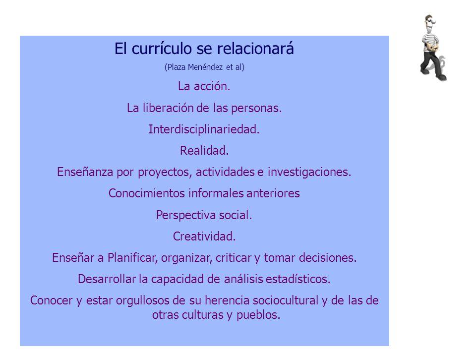 El curriculum: Crítica a los actuales.