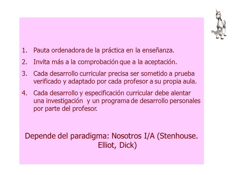 Curriculum del ámbito científico-tecnológico NO ES UN COMPENDIO NO ES UN CONJUNTO DE MATERIALES
